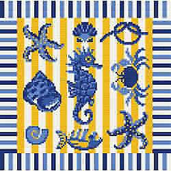 Sea Life 1 Needlepoint Kit