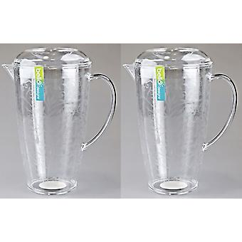 Drinks Jug Large Pitcher Outdoor Dining Tableware BBQ Picnic Cups Drinks Glasses