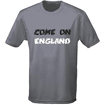 Come On England Funky Football Rugby Mens T-Shirt 10 Colours (S-3XL) by swagwear