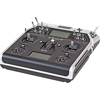 Graupner MC-20 Hott RC console 2,4 GHz No. of channels: 12