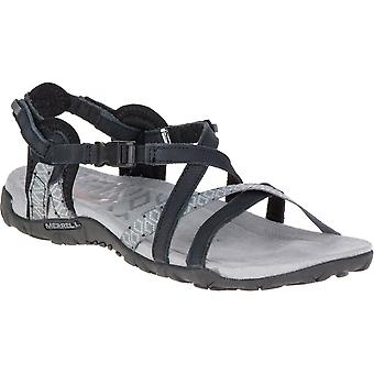 Merrell Womens/Ladies Terran Lattice II Leather Mesh Walking Sandals