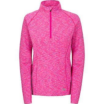 Trespass Womens/Ladies Olina Half Zip Long Sleeved Wicking Active Top