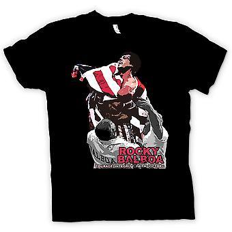 Mens T-shirt - Rocky Balboa - Courage - Boxing Movie