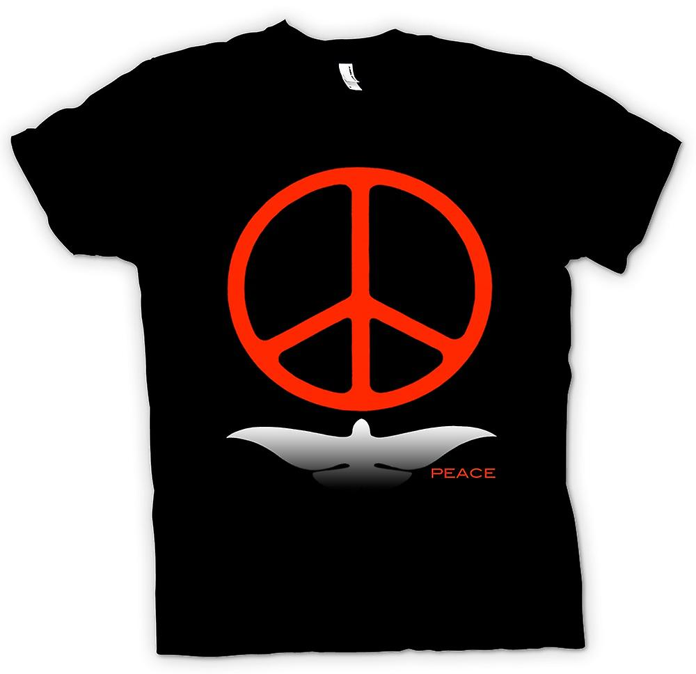 Mens T-shirt - Greenpeace Kärlek Dove CND
