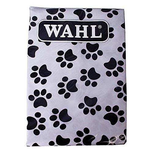 Wahl Paw Print Pet Dog Grooming Apron to repel the loose hair generated through grooming or clipping