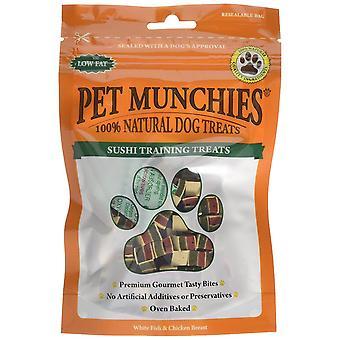 Pet Munchies Sushi Training Dog Treat 50g, Pack of 8