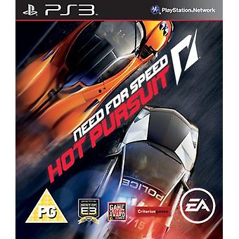 Behoefte aan snelheid Hot Pursuit (PS3)