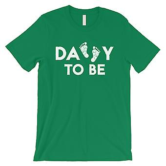 Daddy To Be Mens Green Shirt