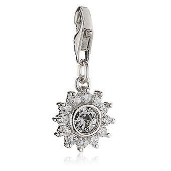 s.Oliver bijou Mesdames Pendentif charm argent fleur SOCHA/194-419413