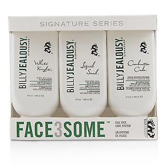 Billy Jealousy Signature Combat Lines Face Moisturizer - 88ml/3oz ren clarifying tonic lotion, 5.1 fluid ounce