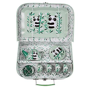 Sass & Belle Aiko Panda Picnic Box Tea Set