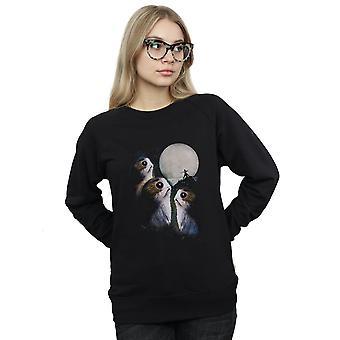 Star Wars Women's The Last Jedi Porgs Sunset Sweatshirt
