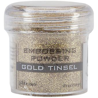 Embossing Powder-Gold Tinsel
