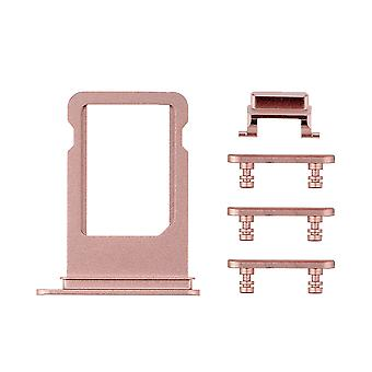 Rose boczne przyciski zestaw z taca SIM dla iPhone 7