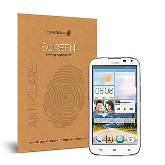 Celicious Matte Anti-Glare Screen Protector Film Compatible with Huawei Ascend G610 [Pack of 2]