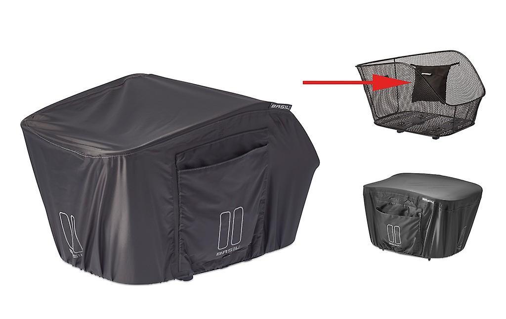 Tampa de proteção de chuva de manjericão para cestas traseiras