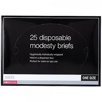 Salon Services Disposable Briefs