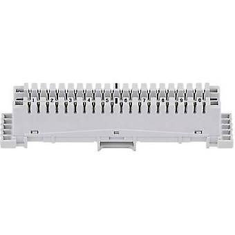 3M 79101-510 00 LSA-PLUS Connection Strip Series 2 Connecting strip Grey
