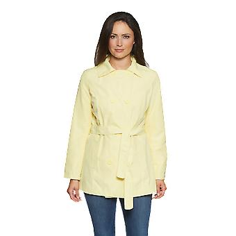 Ladies short double-breasted trench rainoat  DB201