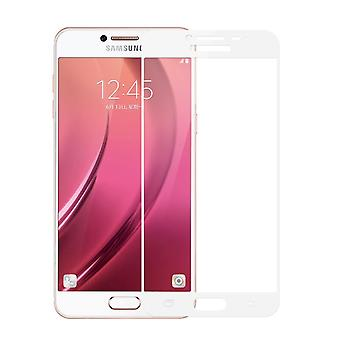 Samsung Galaxy J3 2017 3D armoured glass foil display 9 H protective film covers case white