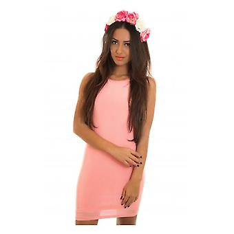 The Fashion Bible Opulence Draped Back Bodycon Dress In Pink
