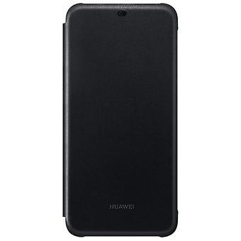 Ursprungliga Huawei plånbok flip cover svart för mate 20 Lite skyddande fall cover fodral väska fodral