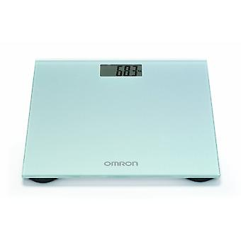 Omron HN-289-ESL Silky Grey Digital LCD Personal Body Weight Scale