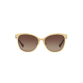Ralph By Ralph Lauren Metal Cateye Sunglasses In Gold Dark Tortoise