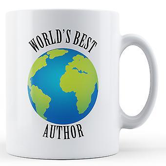 Melhor autor do mundo - caneca impressa