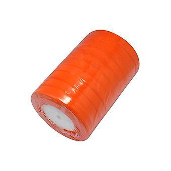 x 1 carrete de cinta Organza naranja 50 yardas x 15 mm Y07670