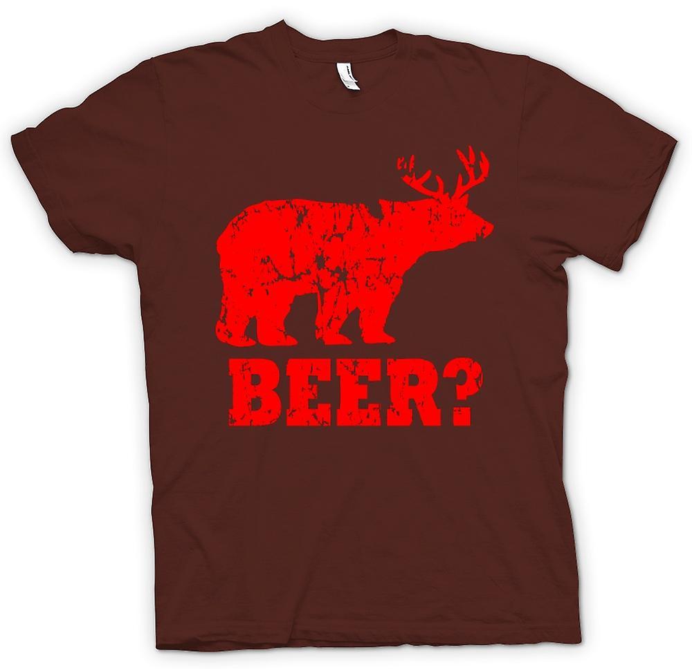 Herr T-shirt - öl - Funny