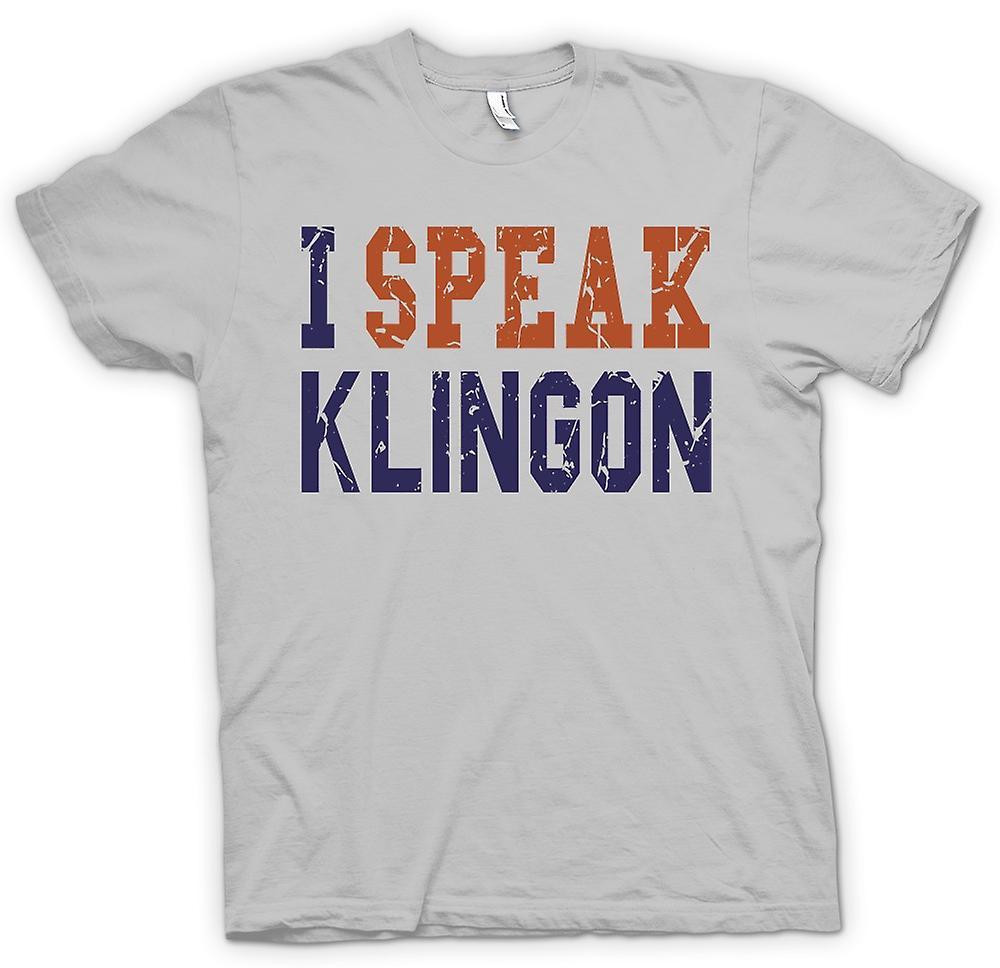 Camiseta para hombre - hablo Klingon - gracioso