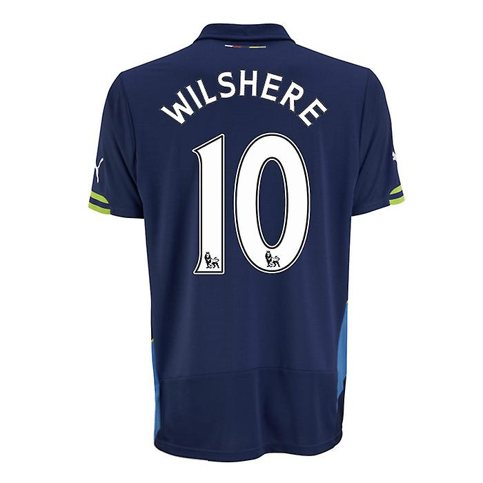 2014-15 Arsenal Third Cup Shirt (Wilshere 10)