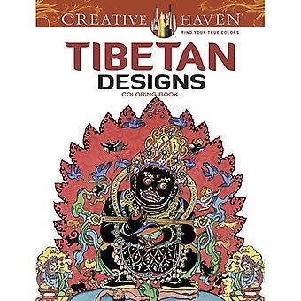 Kreative Oase tibetischen Designs Malbuch (kreative Oase Malbücher)