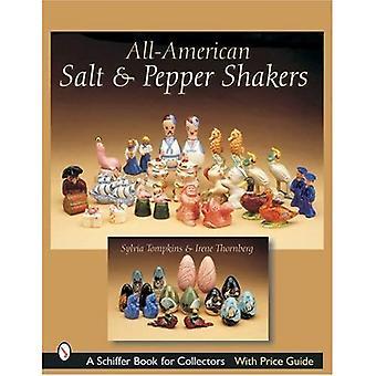 ALLAMERICAN zout & PEPER SHAKERS (Schiffer boek voor verzamelaars met Price Guide)