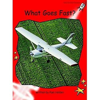 What Goes Fast?: Level 1: Early (Red Rocket Readers: Non-fiction Set A)