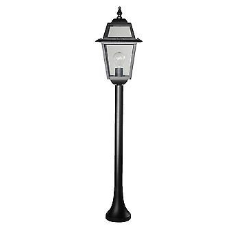 Perla staande lamp 110cm - zwart