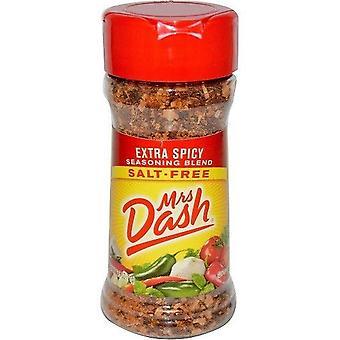 Mrs Dash Extra Spicy Blend Salt-Free Seasoning Blend 2.5 oz Bottle 2 Pack