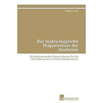 Der makroskopische Prparierkurs der Anatomie av lampa Christoph