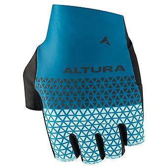 Altura Teal-Turquoise 2019 Progel Fingerless Cycling Gloves