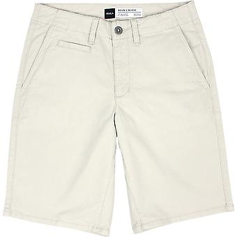 RVCA Mens VA Sport Sayo shorts Chino casual-Silver Bleach White