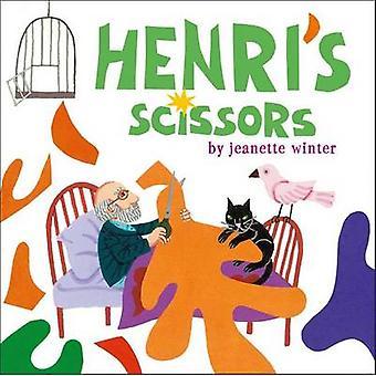 Henri's Scissors by Jeanette Winter - Jeanette Winter - 9781442464841