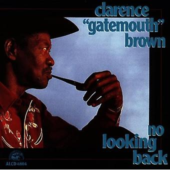 Clarence Gatemouth Brown - No Looking Back [CD] USA import