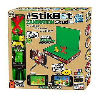 Zabawka rzucić StikBot Zanimation Studio