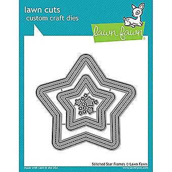 Lawn Fawn Stitched Star Frames Dies (LF1630)