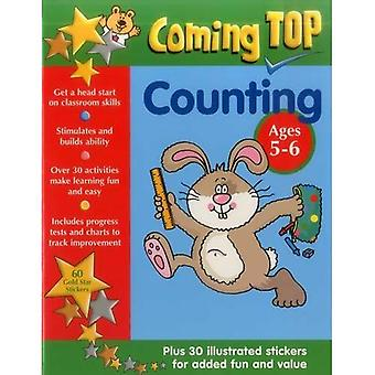 Coming Top: Counting - Ages 5-6: 60 Gold Star Stickers - Plus 30 Illustrated Stickers for Added Fun and Value