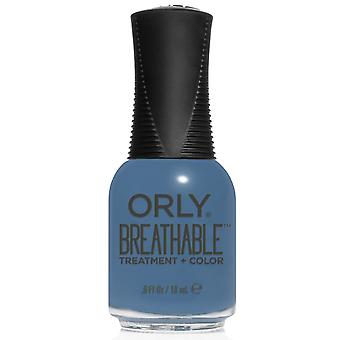 Orly BREATHABLE Treatment + Color - De-Stressed Denim (20960) 18ml