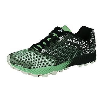 Merrell All Out Crush 2 Womens Walking Hiking Trainers - Black Ash