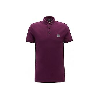 Hugo Boss Casual Men's Slim Fit Purple Passenger Polo Shirt