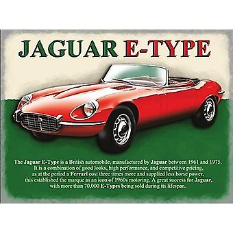 Jaguar E-Type fridge magnet  (og)